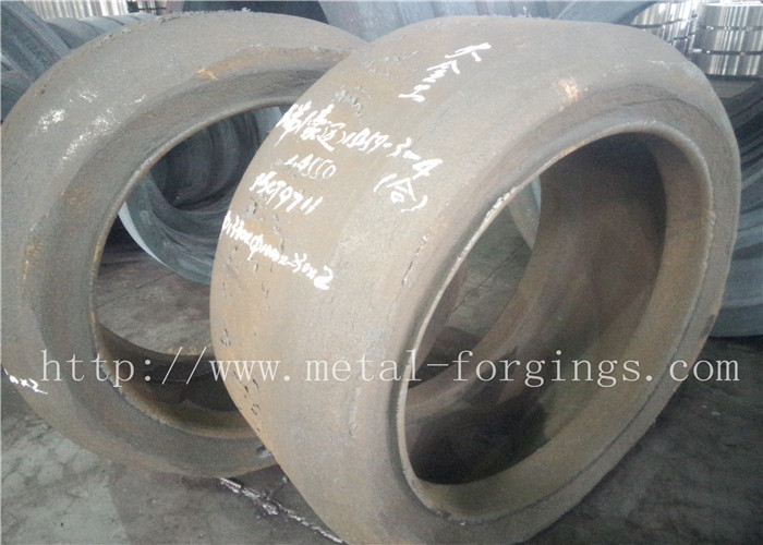 Stainless Steel Forged Steel Products Hot Rolled ID Indent Forged Ring Proof Machined
