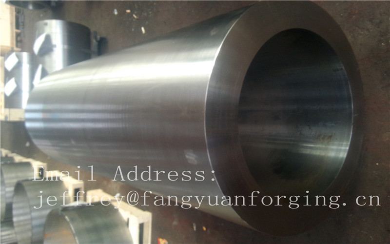 Alloy Steel Carbon Steel Hot Rolled Bushing Sleeve Rough Machined Customized