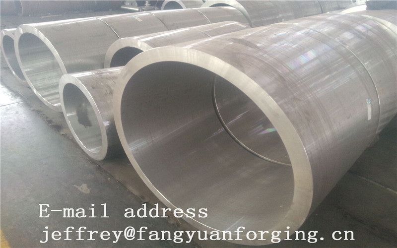 Rolled Forged Sleeves Max Length 1240 mm  4140 42CrMo4 34CrNiMo6 Heat Treatment And Rough Machined