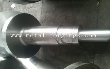 4140 34CrNiMo6 4340 Alloy Steel Metal Forgings Shaft Blank Rough Machined For Wind Power Industry