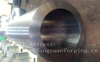 ประเทศจีน F316H S31609 Stainless Steel Forging Forged Cylinder  Seamless Pipe  Flange โรงงาน